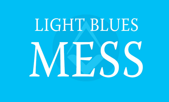 Light Blues' Mess